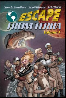 Escape From Terra, Vol 1 - Front Cover