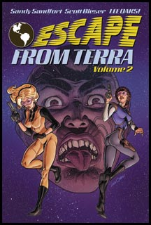 Escape From Terra, Vol 2 - Front Cover