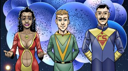 Alyss Roaz, Bok, and Sergio Cooper