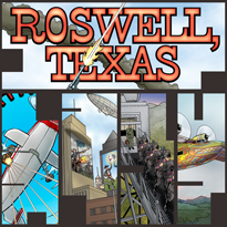 Roswell, Texas - by L. Neil Smith, Rex F. May, Scott Bieser & Jan Zach