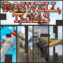 Roswell, Texas - by L. Neil Smith, Rex F. May, Scott Bieser, and Jen Zach