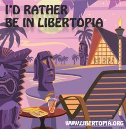 Libertopia banner