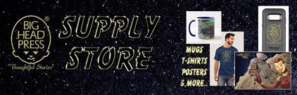 Big Head Press Supply Store - Mugs, T-Shirts, Posters & More...